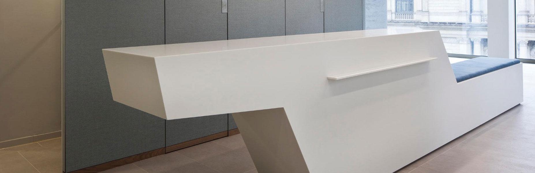 Handelskammer Hamburg - Waschtisch- und Tresenanlagen aus Corian®