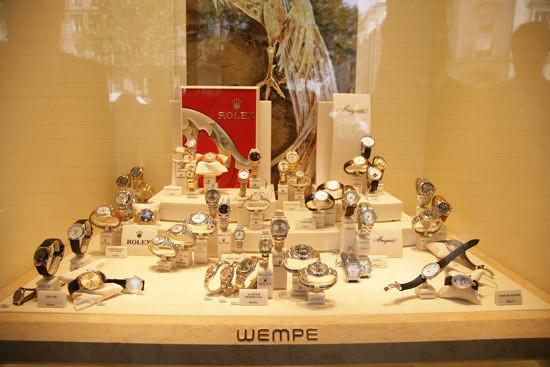 Juwelier WEMPE KG Verkaufsdisplays