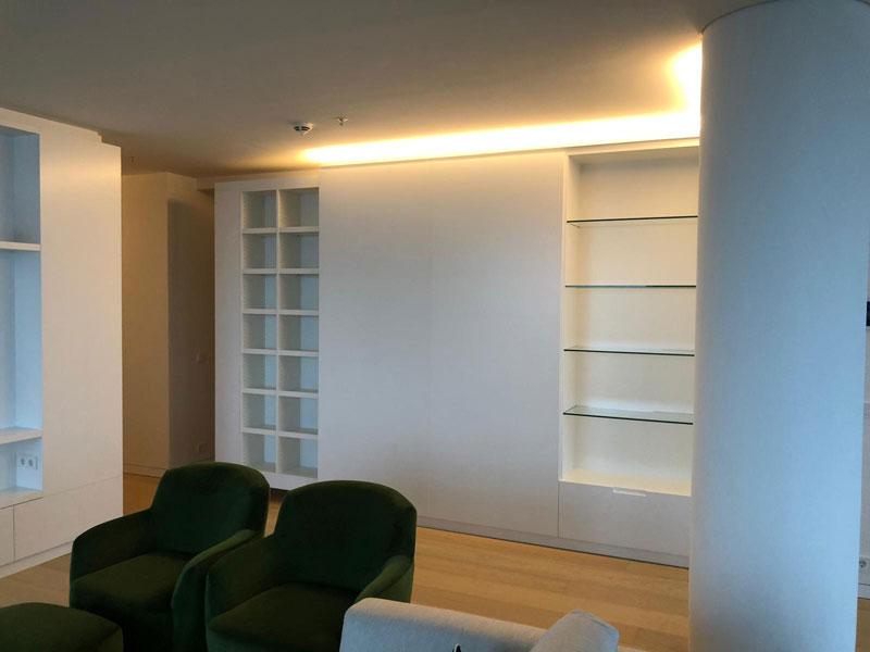 Wohnungsausbau Elbphilharmonie Interieur und Innenausbau